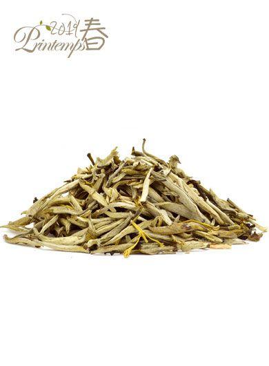 Aiguilles d'Argent au jasmin - thé blanc parfumé