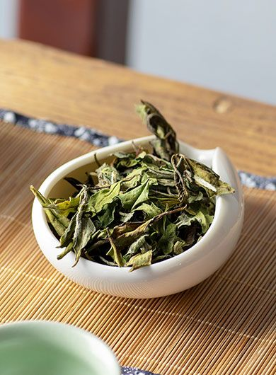 Bai Mu Dan Bio : thé blanc