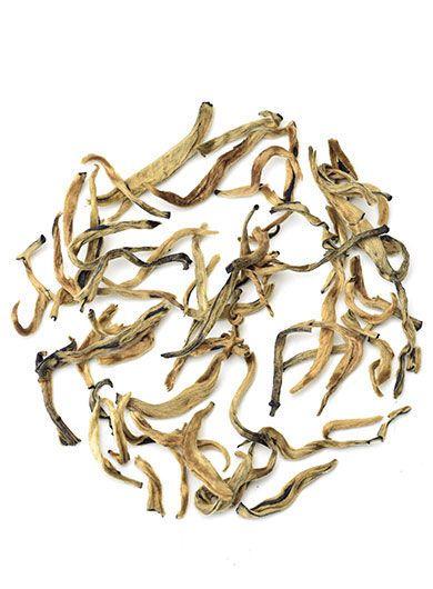 Pré-commande Bourgeons dorés au jasmin, thé noir du Yunnan