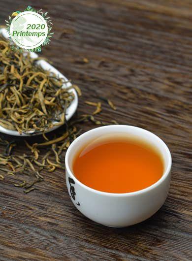 Yunnan Dian Hong Jin Hao : thé noir grand cru