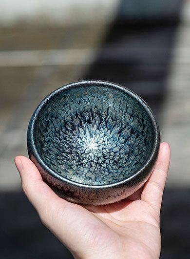 Mini bols GongFu Jianyang Jianzhan : la floraison des fleurs