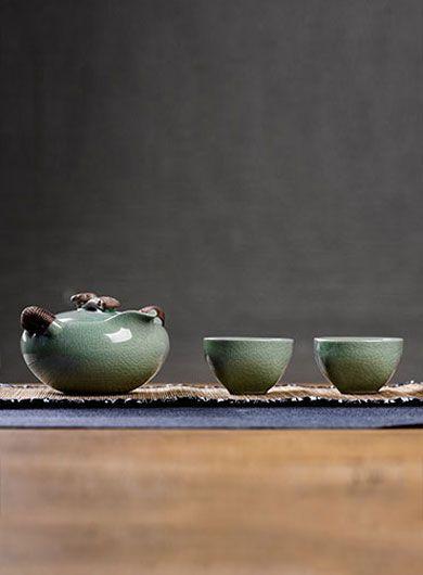 Service à thé Ge Yao Kuai Ke Bei