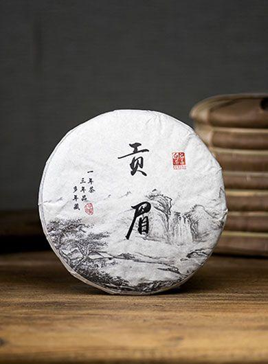Gong Mei de Fuding 2017 : thé blanc compressé