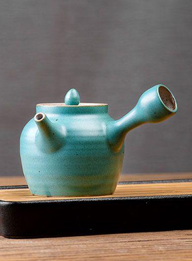Théière Japonaise Kyusu en poterie grossière 230 ml