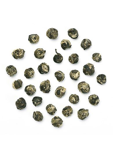 Perles du Dragon : thé vert au Jasmin