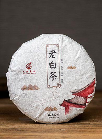 Gong Mei de Fuding 2016 : thé blanc compressé
