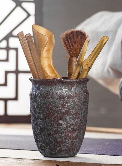 Ustensiles en poterie grossière pour Gongfucha