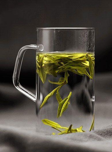 Long Jing Bio Puits du dragon : thé vert