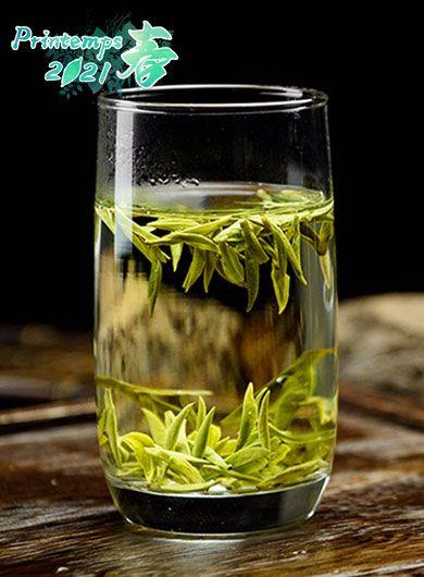 LongJing Bio Grand Cru MingQian : thé vert