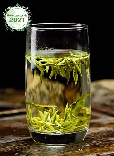 Pré-commande LongJing Bio Grand Cru MingQian : thé vert