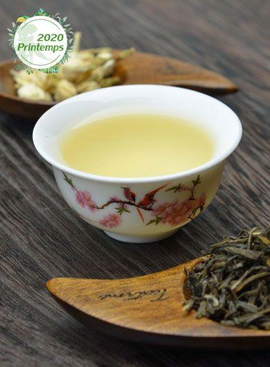 Jasmin Impérial Yin Hao : thé vert parfumé