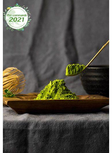 Pré-commande Thé vert de Matcha biologique de haute qualité