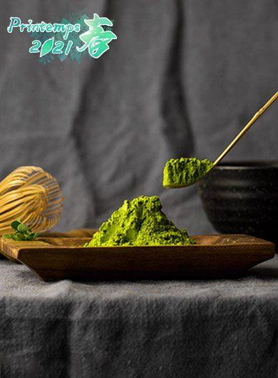 Thé vert de Matcha biologique de haute qualité