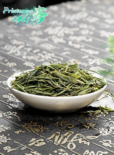 TianMuQingDing : Thé vert bio