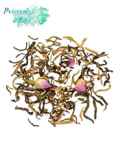 Rose du Yunnan : thé noir parfumé