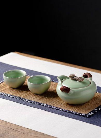 Service à thé Ru Yao Kuai Ke Bei