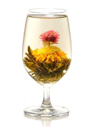 Sapin de Noël, fleur de thé de Chine