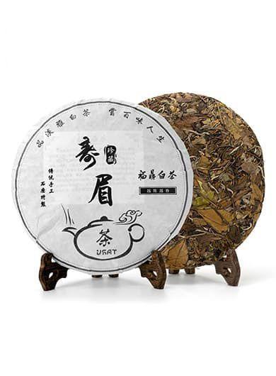 Shou Mei Lao BaiCha 2013 : thé blanc compressé 7