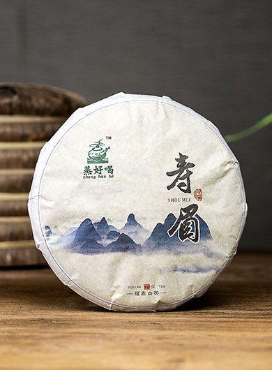 Shou Mei de Fuding 2016 : thé blanc compressé