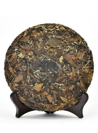 Shou Mei Lao BaiCha 2013 : thé blanc compressé