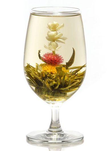 Trio florissant : fleur de thé