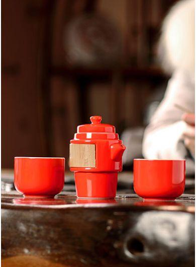 Service à thé de voyage Kuai Ke Bei
