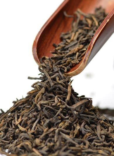 Pu Er Shu SanCha Vrac : thé sombre 7