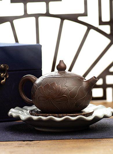 Théière Xishi Lotus 200 ml