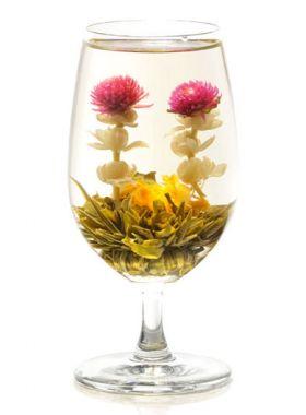 Amour éternel : fleur de thé vert