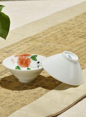 Coupes à thé lotus