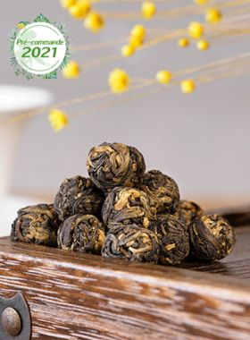 Pré-commande Dragon rouge : perles de thé noir