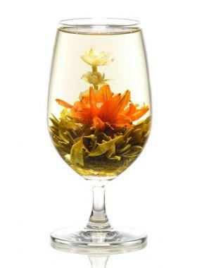 Elégance, une fleur de thé suave et aérienne