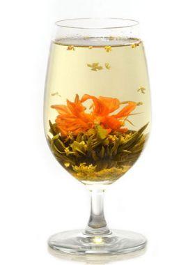 Essaim d'osmanthus : thé artistique et parfumé