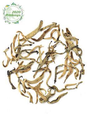 Bourgeons dorés au jasmin, thé noir du Yunnan