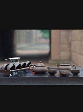 Service à thé YiXing ChenManSheng, complet, 13 pièces (Zi Sha)
