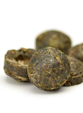 Tuocha Rose de Pu Er : thé sombre parfumé. s