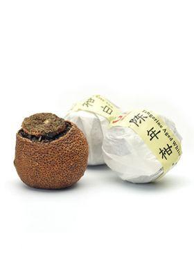 ShouMei mandarine : thé blanc parfumé
