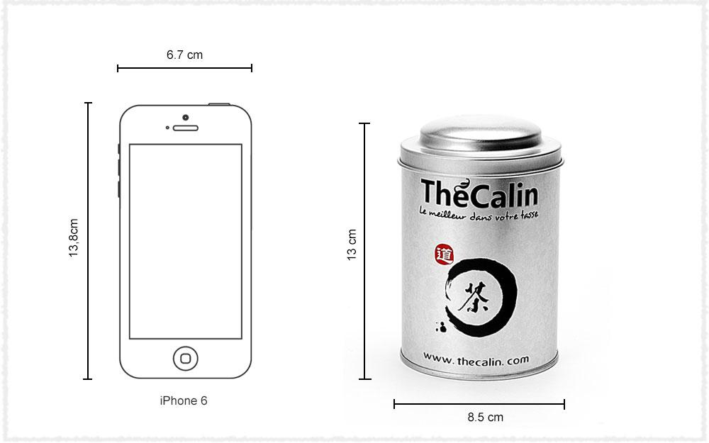 Dimension Boîte à thé ThéCâlin