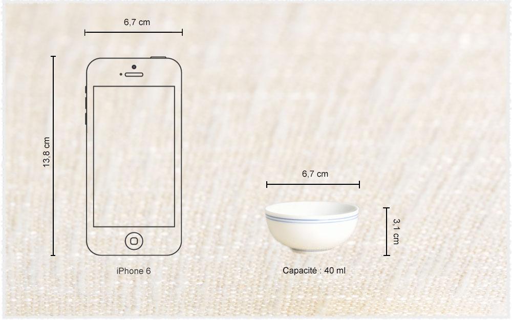 Dimension Mini bols XuanWen short