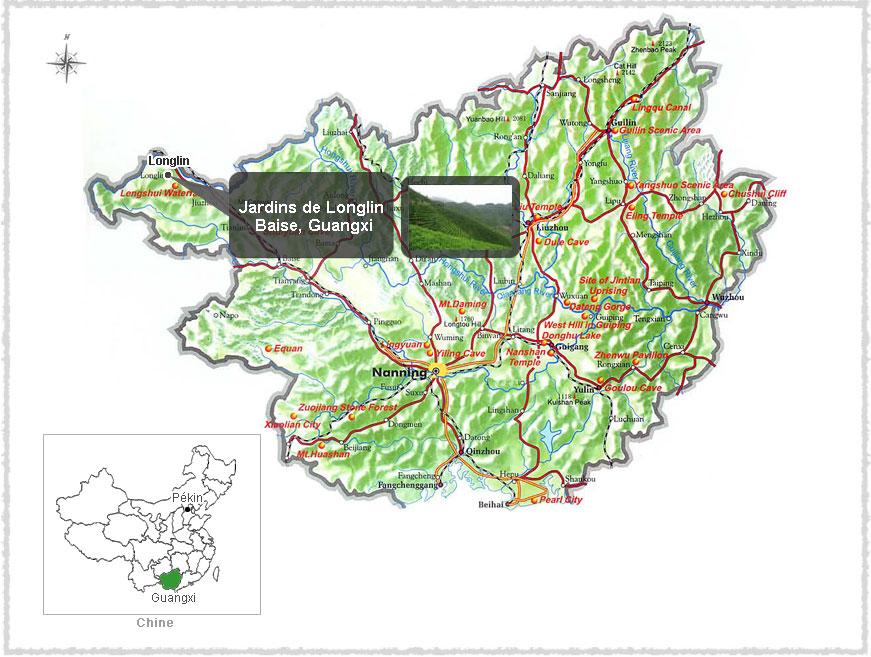 Carte du Guangxi