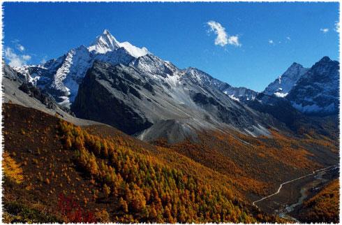 mont Qià lǎng duō jífēng