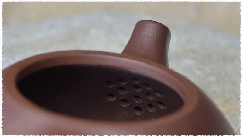 YiXing Shi Piao Teapot inside